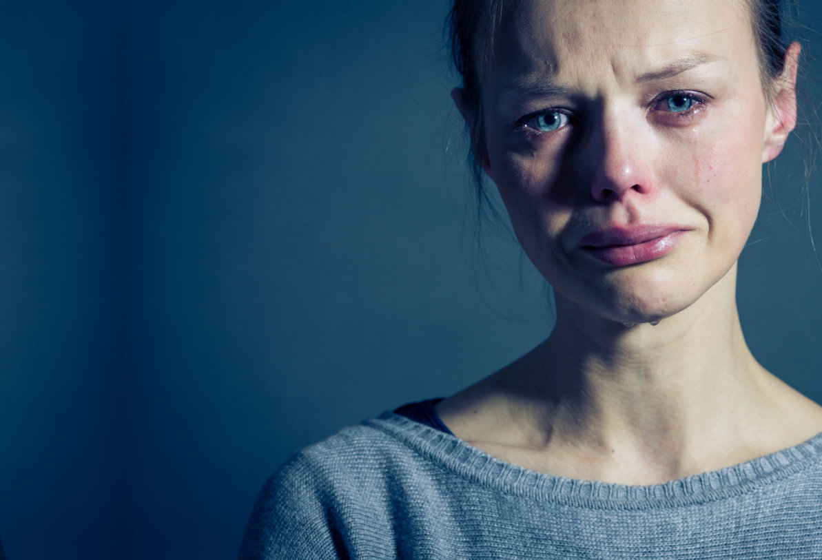 young woman suffering depression